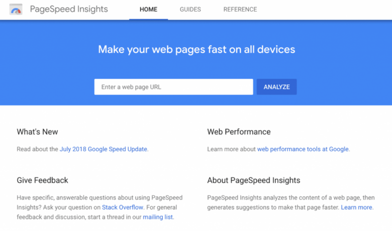 如何做到Google PageSpeed Insights测试满分缩略图