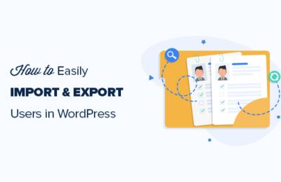 WordPress用户数据导入和导出图文教程