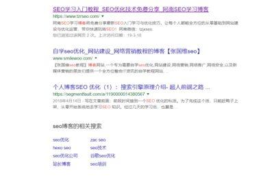 Google SEO排名优化干货分享缩略图