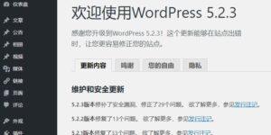 WordPress 5.2.3 正式版宣布